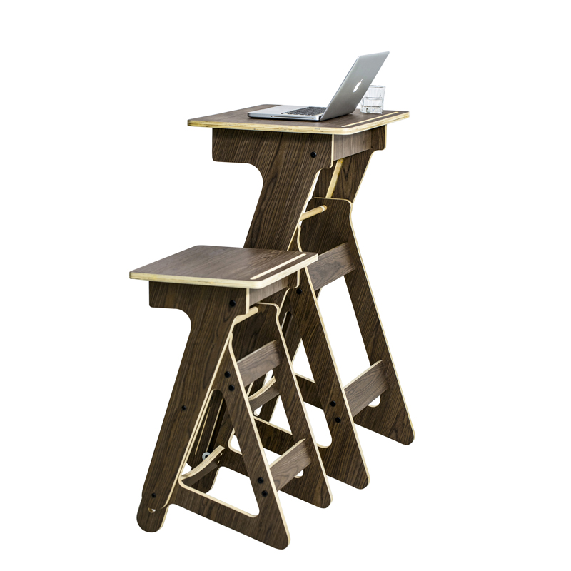 Standing Desk For Laptop Secret Compartment Desk