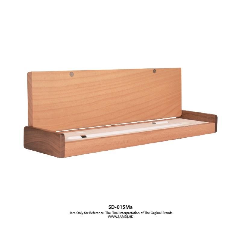 Samdi Original Sample Office Rack Wooden Maple Universal Pencil Box Case Holder For Apple Ipad